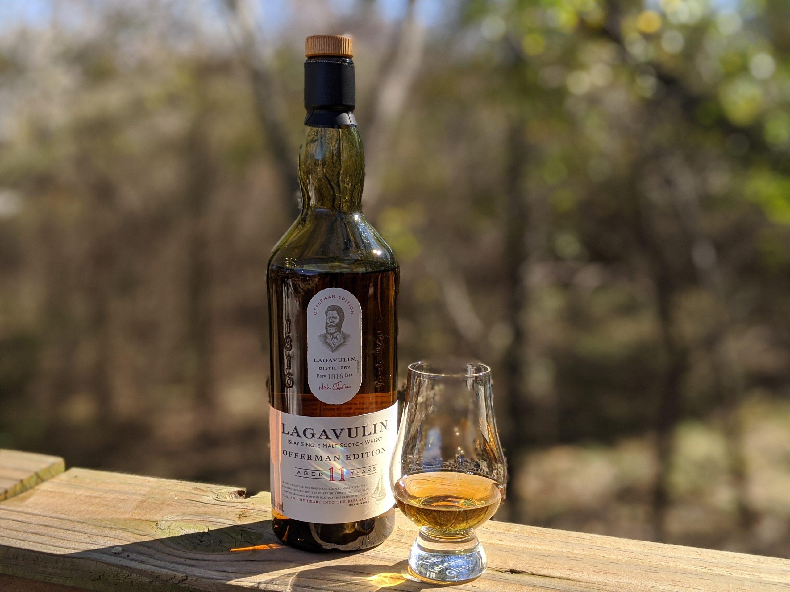 Lagavulin Scotch Bottle Light