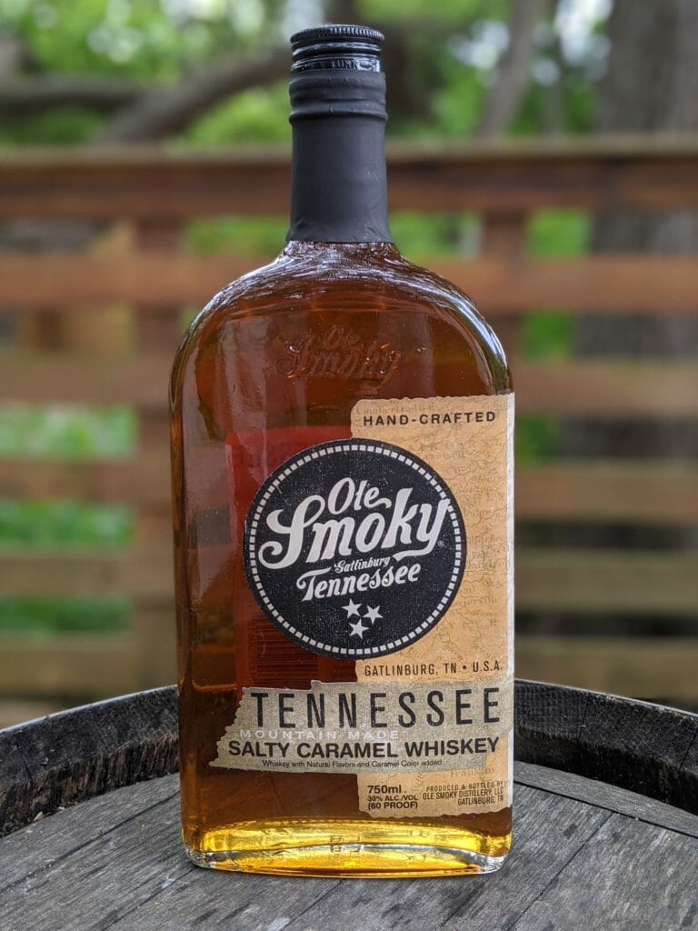 Whiskey Review Ole Smoky Tennessee Salty Caramel Whiskey Thirty One Whiskey