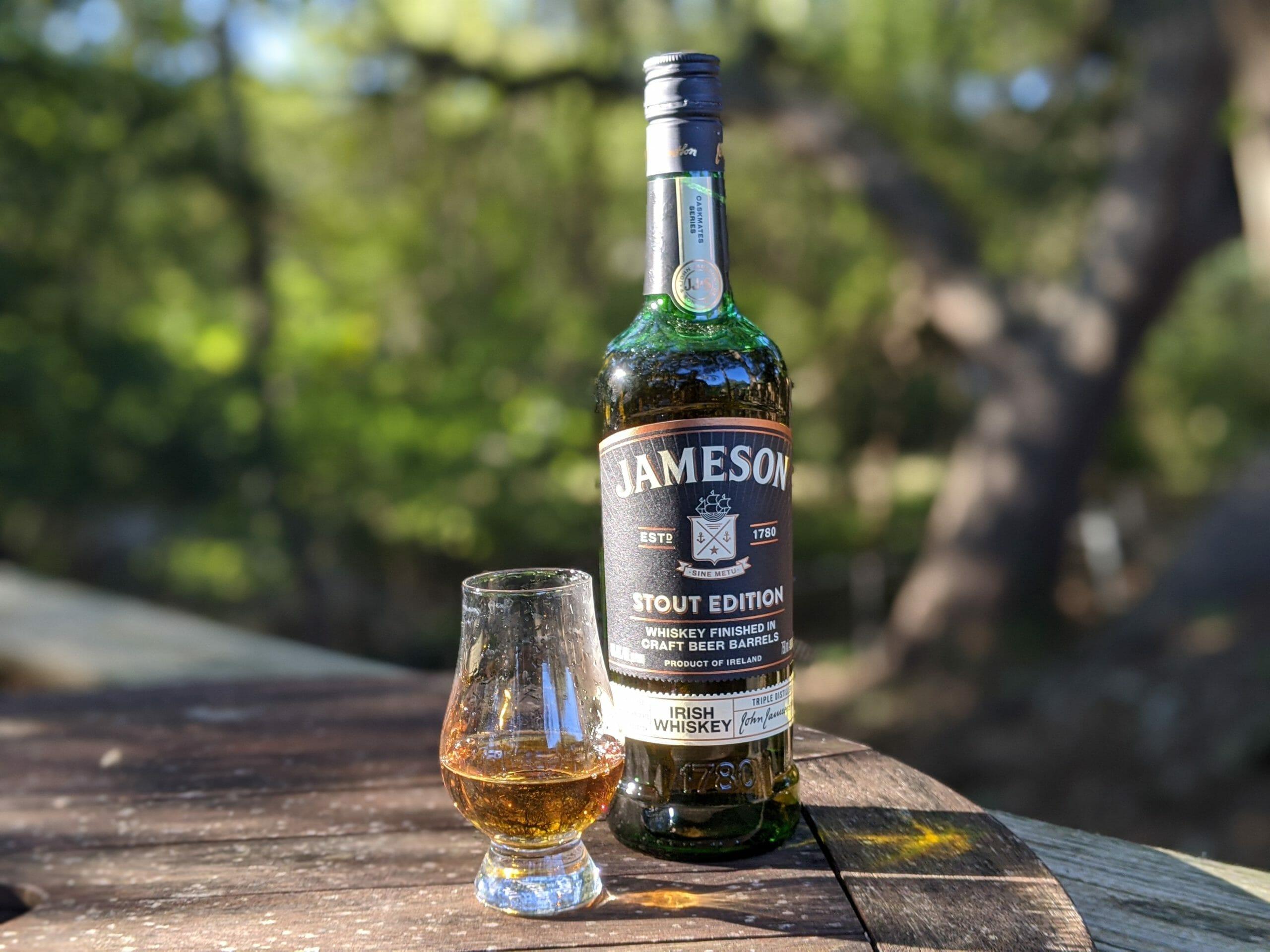 Whiskey Review Jameson Caskmates Stout Edition Blended Irish Whiskey Thirty One Whiskey